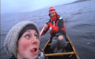 These Two Women Were In Their Boat But When They Looked Up They Saw THIS
