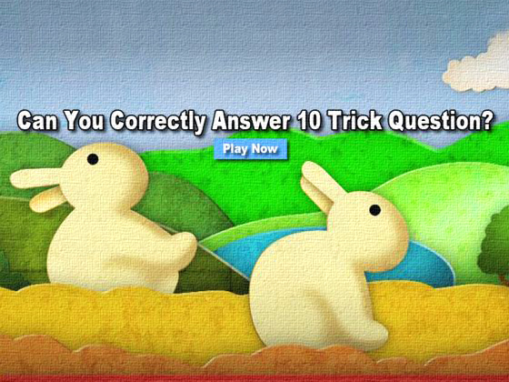 trick questions with answers