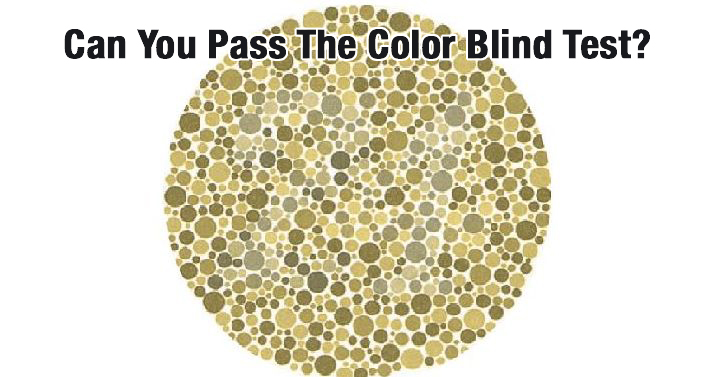 Quiz Can You Pass The Color Blind Test