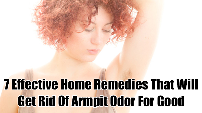 how to get rid of underarm odor for good dark brown hairs