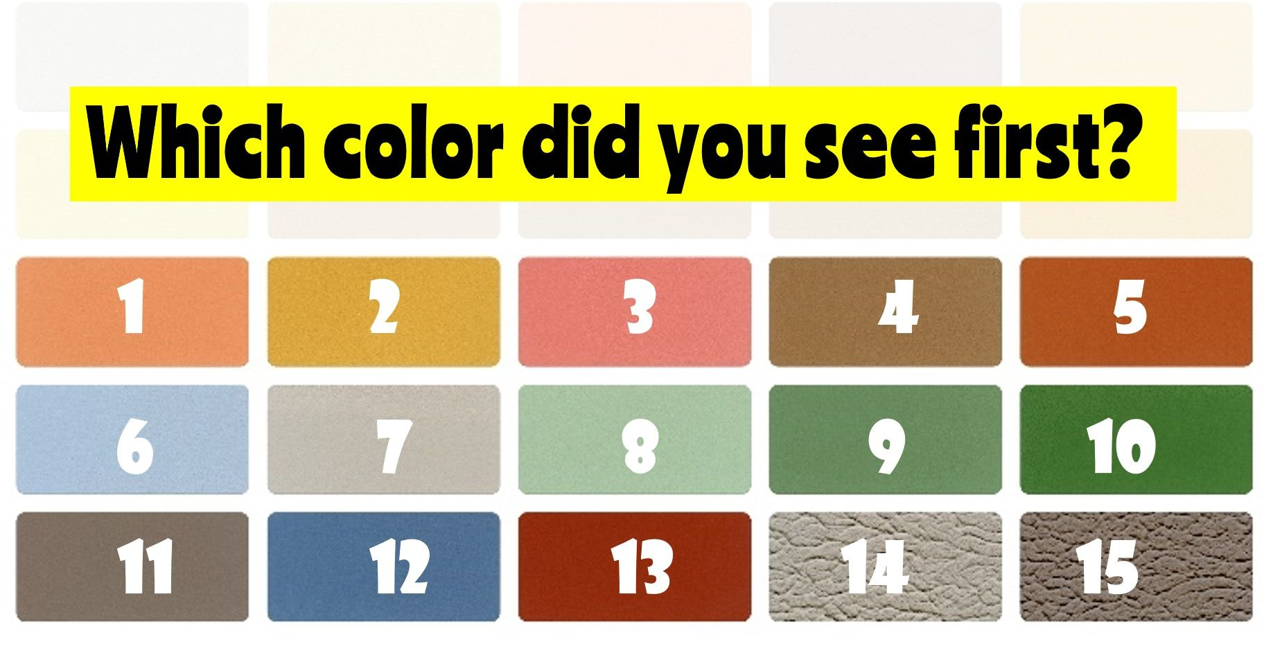 QUIZ: The Colors You See Can Determine Your Dominant Emotion