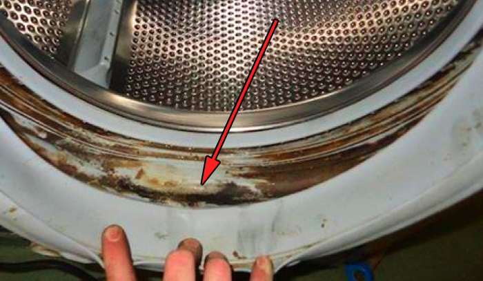 clothes coming out of washing machine smelly
