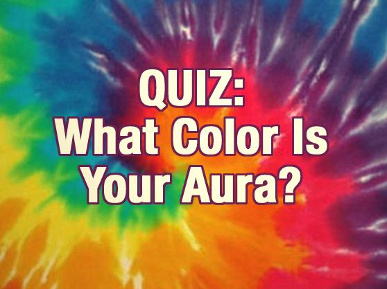 My aura color quiz