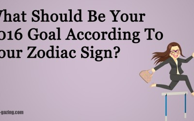 What Should Be Your 2016 Goal According To Your Zodiac Sign?