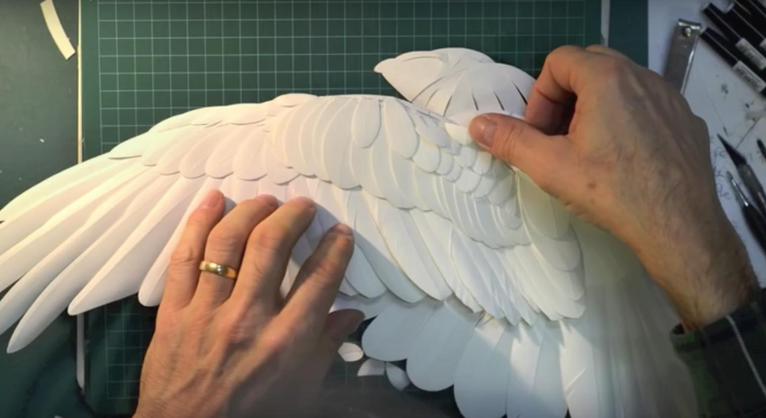 Как сделать скульптуру из бумаги своими руками7