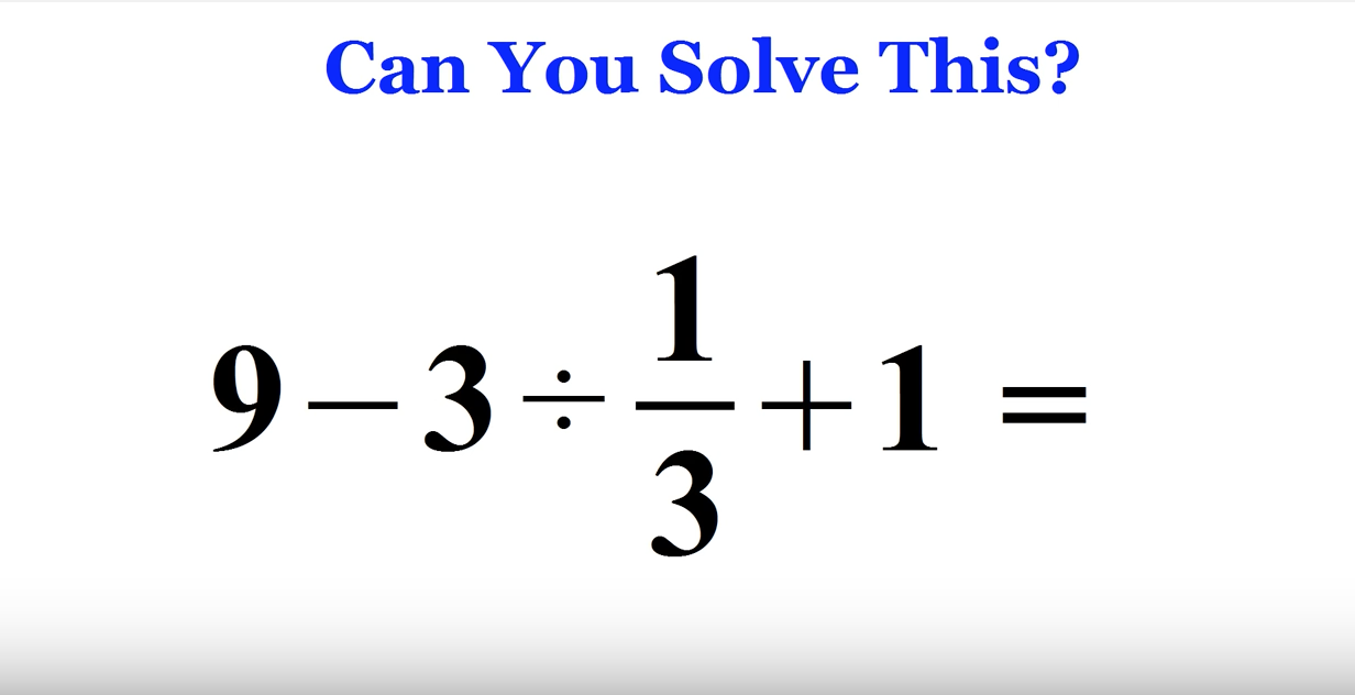 This Simple Math Problem Went Completely Viral Because Most Adults ...