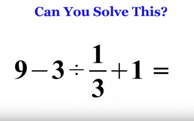 This Simple Math Problem Is Breaking The Internet Because Most Adults Can't Figure Out The Answer. Can You?