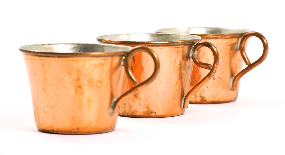 If you drink out of a copper cup 1x per day for a month this happens