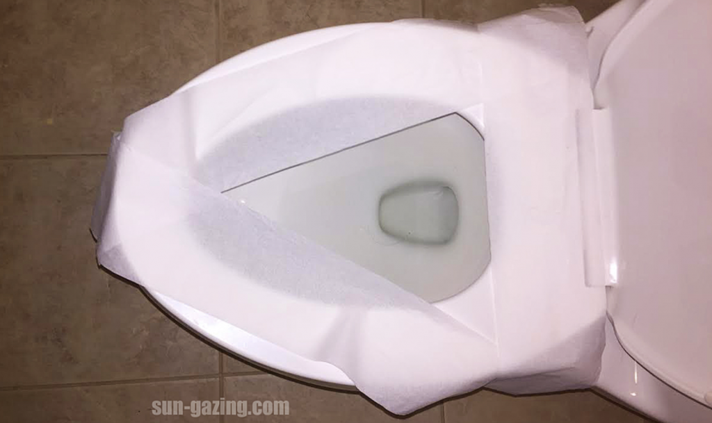 Marvelous The Reason Why You Shouldnt Cover The Toilet Seat With Gmtry Best Dining Table And Chair Ideas Images Gmtryco