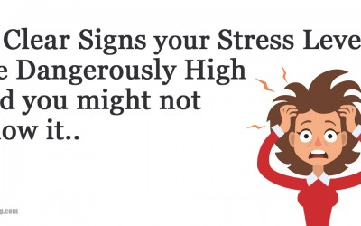 15 Clear Signs Your Stress Levels Are Way To High and Destroying Your Health.
