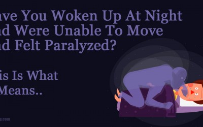 8 Scary and Strange Facts About Sleep Paralysis.