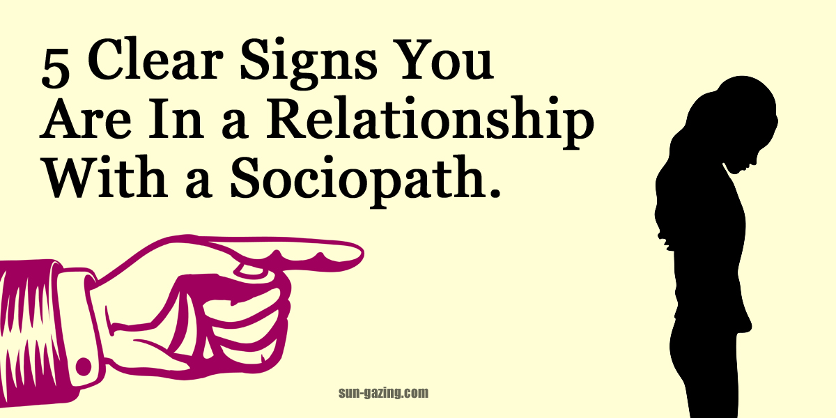 Signs of sociopaths
