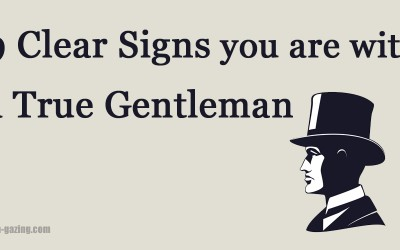 9 Things A Real Gentleman Does That Other Men Won't