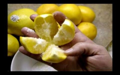 8 Health Benefits of Slicing a Lemon Adding Some Salt And Placing It On Your Night Table Before Bed