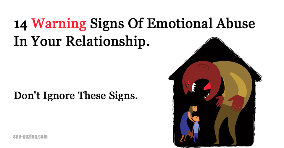 how to stop emotional abuse in a relationship