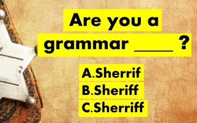 Are You Able To Pass This Extremely Tough Grammar Police Quiz?