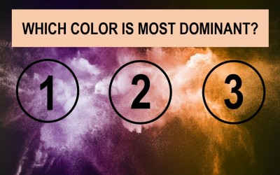 What Is Your Most Dominant Personality Trait According This Beautiful Color Test? Find Out..
