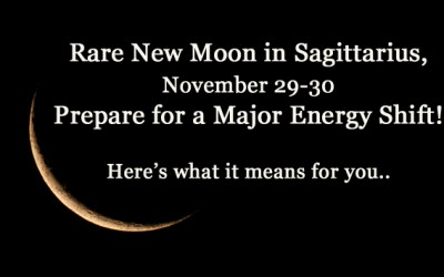 Rare New Moon During Sagittarius: Prepare For a Huge Energy Shift On November 29-30, 2016