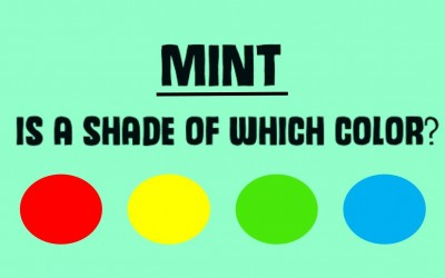 Are You Able To Perceive Different Shades Of Color? Take The Quiz Below and Find Out.