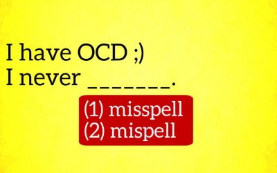 Only Humans With Spelling OCD Can Get a Perfect On This Quiz. Can You?