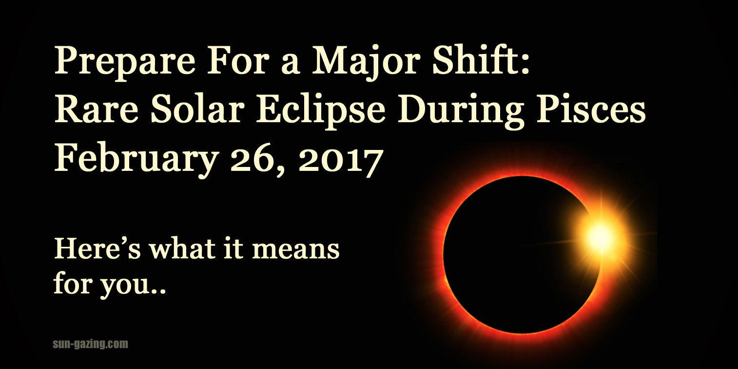 Ring Of Fire Eclipse Spiritual Meaning