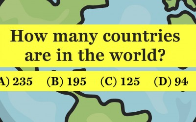 Can You Pass This Tricky Geography Test? Take The Quiz Below and Find Out.