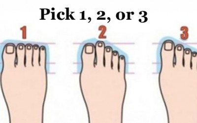 What Does The Shape Of Your Feet Reveal About You?