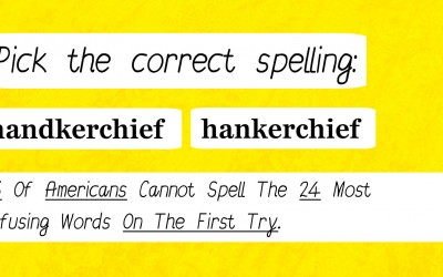 Quiz: Most People Can Not Spell This List Of Confusing Words Correctly On The First Try. Can You?