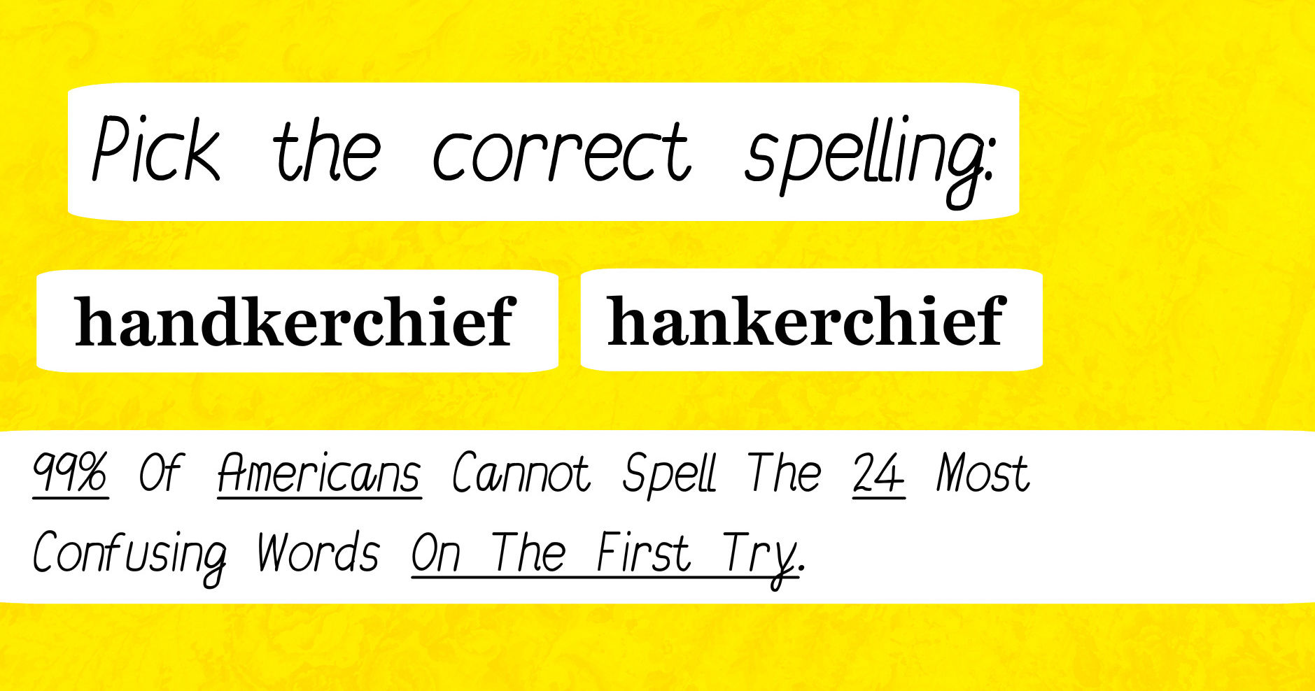 How to spell is not correct 24