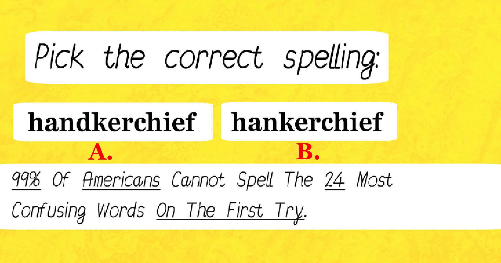 confusing spelling words list pdf
