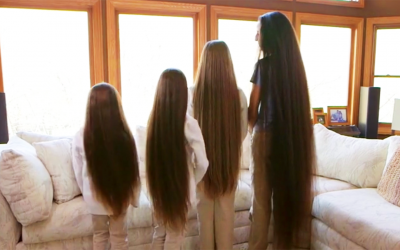 Meet The True Life Rapunzel Family. Have You Ever Seen A Family With Hair This Long?