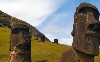 Scientists Uncover an Amazing Discovery Under The Giant Easter Island Heads. This Is Awesome.