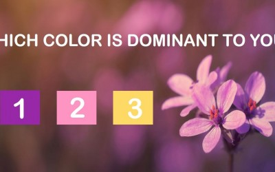 Quiz: What Is Your Most Dominant Spiritual Color According To This Beautiful Quiz Below