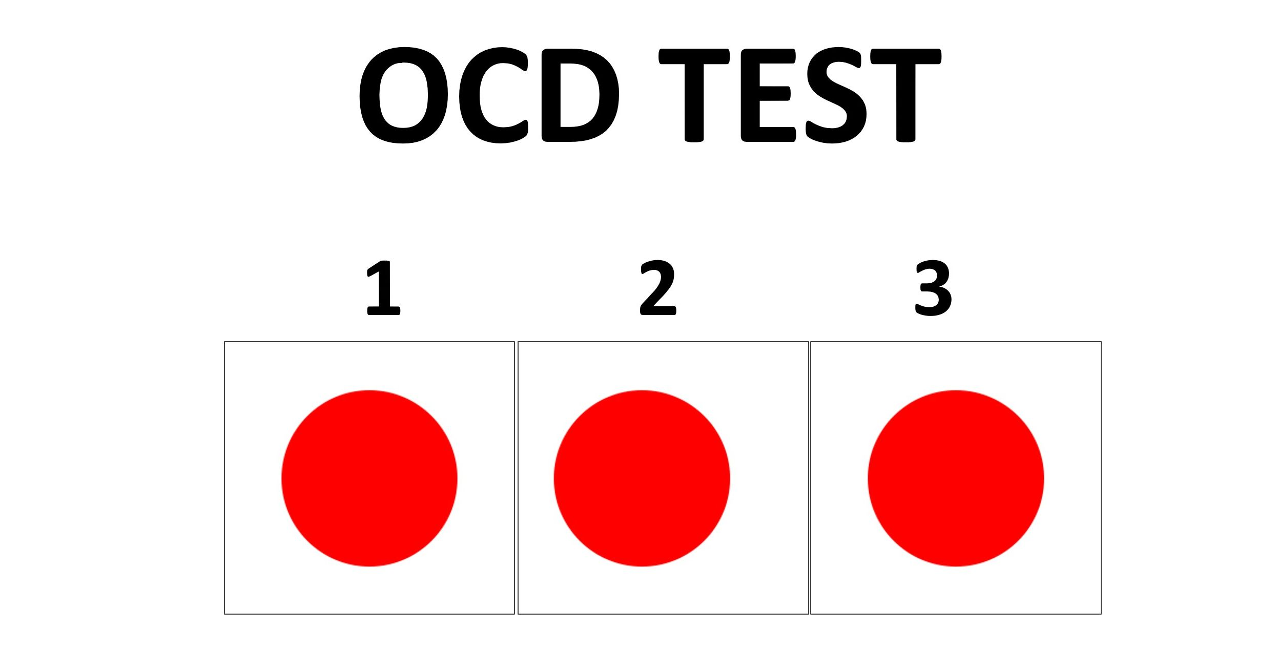 what level sensitivity is your ocd radar? take the quiz below and