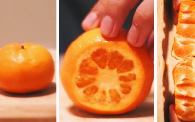 Apparently I've Been Peeling Oranges Wrong My Entire Life. This Is So Good To Know.
