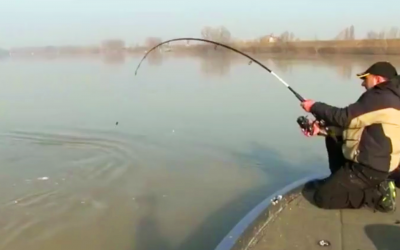 He Starts Having Trouble Reeling In His Line, Soon Finds Out It's Record Breaking Monster Catch