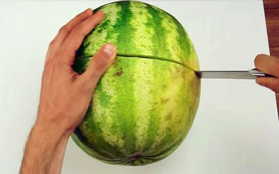 The Simplest and Best Way To Slice a Watermelon