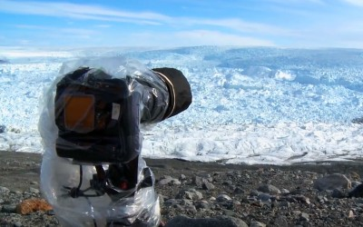 He Placed a Camera On The Ice, Then Caught The Most Unthinkable Footage.