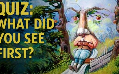 Quiz: What do you notice first? The answer will reveal a lot about your personality.