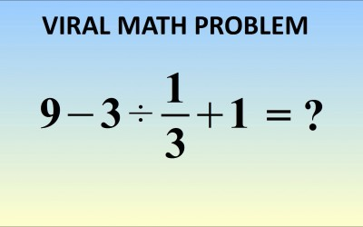 Quiz: This Math Problem Is Breaking The Internet. Can You Figure Out The Right Answer?