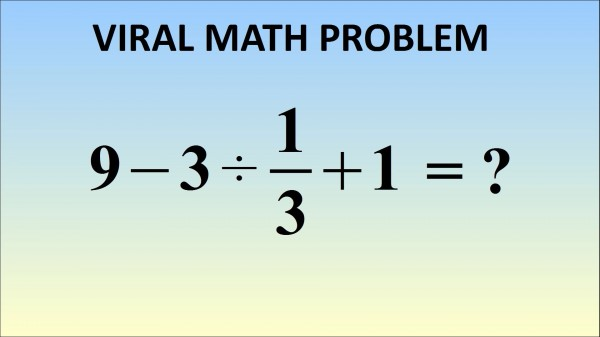 impossible math problem