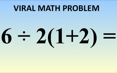 This Math Equation Is Breaking The Internet. Can You Figure Out The Right Solution?