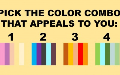 What Is Your Dominant Outlook On Life According To This Special Color Quiz? Find Out Below.