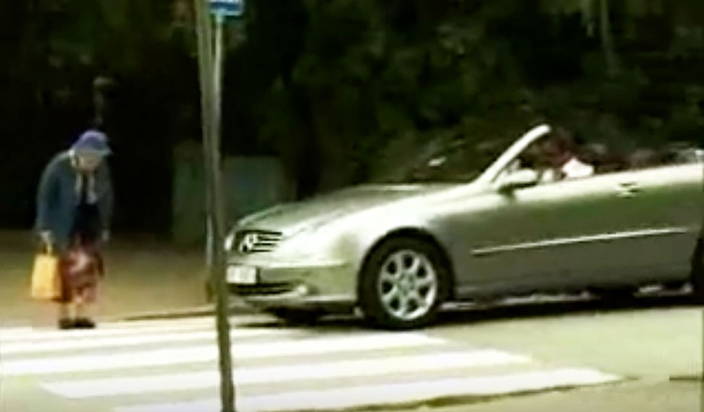 Mean Rich Guy Beeps His Horn At Grandma Crossing The Street. But She Gets The Best Revenge Ever.