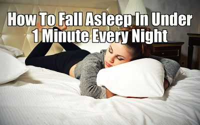 Do You Have Issues Falling Asleep? THIS Unexpected Trick Will Have You Asleep In Under 1 Minute Each Night!