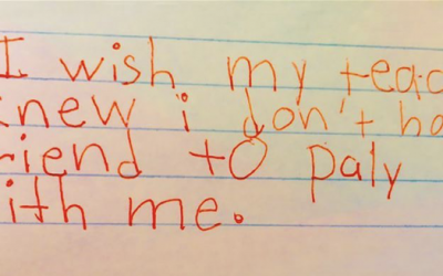 A Teacher Asks Her 3rd Grade Students THIS 1 Question. Their Unexpected Responses Are Heartbreaking!