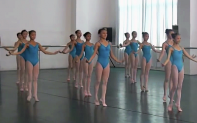 These Dancers Come Together Into a Line Formation. But Their Next Move Is An Unexpected Surprise!