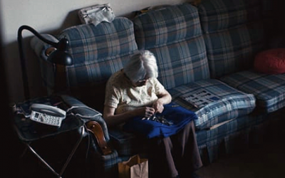 Hidden Camera Records What An Elderly Lady Does At Home Alone. What It Reveals Is Heartbreaking!