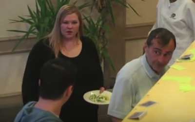 This Guy Calls Her Fat At The Buffet. But How The Other People React Is Unexpectedly Epic!