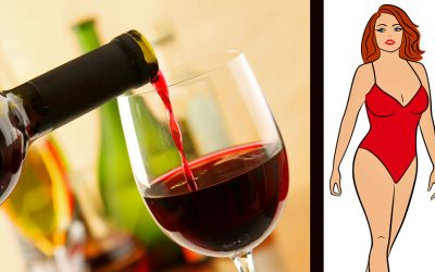 This Is What Happens To Your Waistline If You Drink A Glass Of Red Wine Right Before You Go To Sleep!